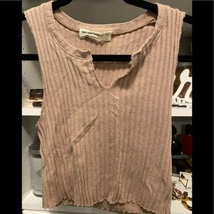 Urban Outfitters Blush Crop Top